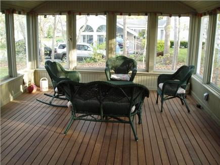 Harwich Port Cape Cod vacation rental - Screened-In Porch