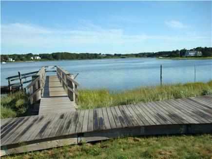 West Dennis Cape Cod vacation rental - Cross the street to Bass River