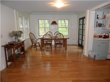 Wellfleet Cape Cod vacation rental - Dining Area opens to kitchen and LR