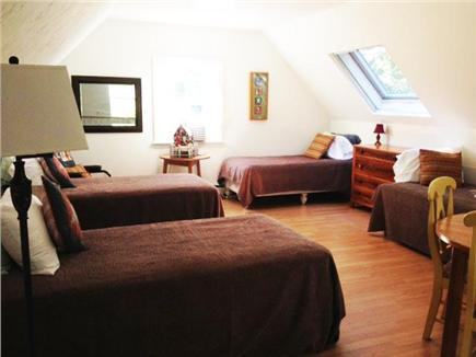 Pocasset Pocasset vacation rental - Loft bedroom shown as 4 twins; twins can be king beds.