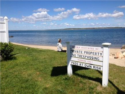 Pocasset Pocasset vacation rental - Association Beach is 2 minute walk: Family Friendly private lane.