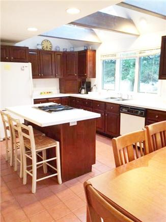 Pocasset Pocasset vacation rental - Large well equipped eat-in  kitchen with skylights