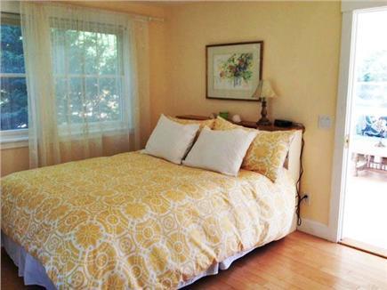 Pocasset Pocasset vacation rental - 1st Floor Bedroom w ensuite full bath. Safety bars for elderly.