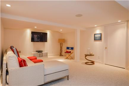 Chatham Cape Cod vacation rental - Lower level TV room