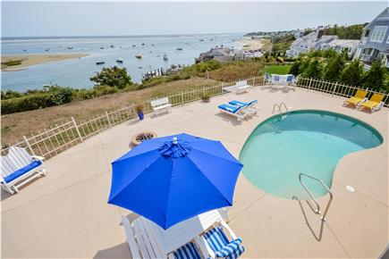 Chatham Cape Cod vacation rental - Heated pool overlooking Chatham harbor