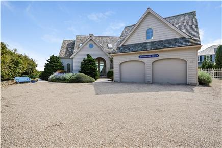 Chatham Cape Cod vacation rental - View of driveway and garage