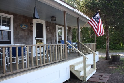 East Harwich Cape Cod vacation rental - Front porch of cottage