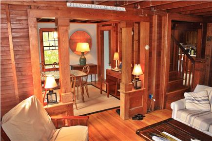 East Harwich Cape Cod vacation rental - Craftsman style throughout the cottage.