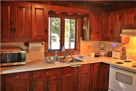 East Harwich Cape Cod vacation rental - Bistro Seating for two in the kitchen.