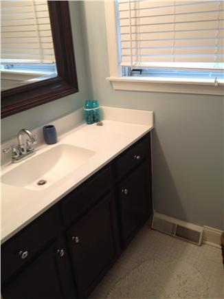 Falmouth Cape Cod vacation rental - Updated Guest bathroom with full bath tub
