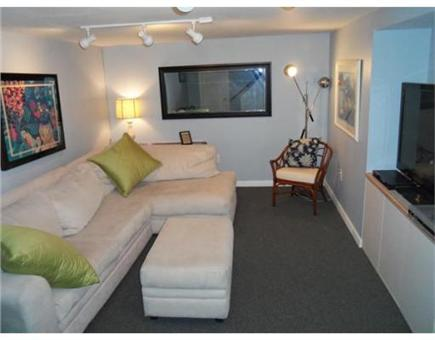 Falmouth Cape Cod vacation rental - Finished family room in basement