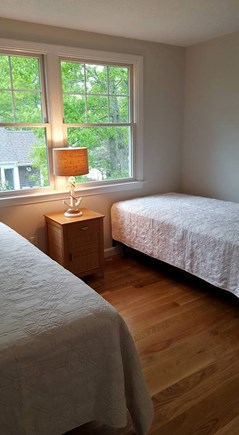 Falmouth Cape Cod vacation rental - Guest room with two twin beds
