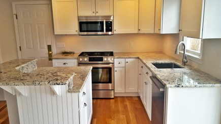 Falmouth Cape Cod vacation rental - Newly renovated kitchen with island