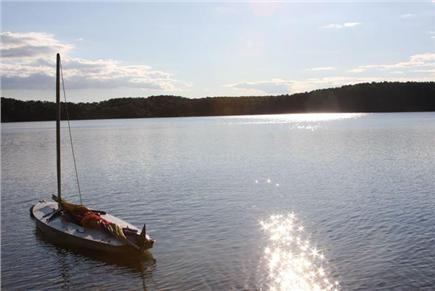 Wellfleet Cape Cod vacation rental - Walk 3 mins to freshwater pond w/ private beach