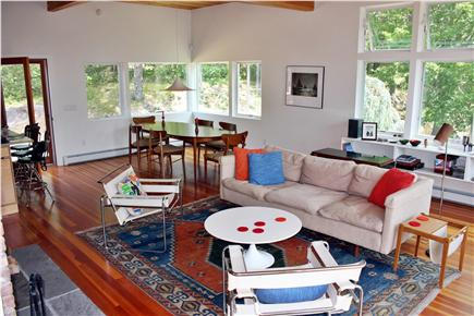 Wellfleet Cape Cod vacation rental - Dining area with additional outside deck