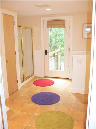 Wellfleet Cape Cod vacation rental - Downstairs bath with access to outdoor shower