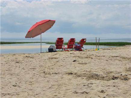 Wellfleet Cape Cod vacation rental - The beach at the end of Lieutenant Island - 5 minutes away