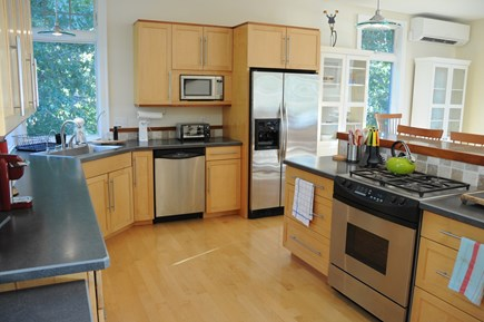 Wellfleet Cape Cod vacation rental - Modern kitchen with every amenity and tons of storage