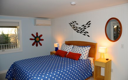 Wellfleet Cape Cod vacation rental - Second bedroom with queen bed and A/C