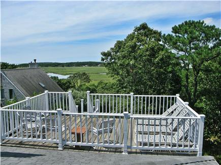 Wellfleet Cape Cod vacation rental - Private roof deck with loungers and unlimited sun