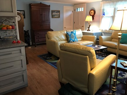 Eastham Cape Cod vacation rental - Living Room off the kitchen