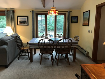 Eastham Cape Cod vacation rental - Eating area