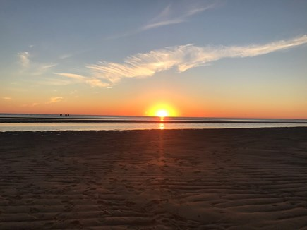 Eastham Cape Cod vacation rental - End each day with breathtaking sunsets over Cape Cod Bay