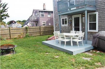 Sandwich (Town Neck) Cape Cod vacation rental - Rear Decks
