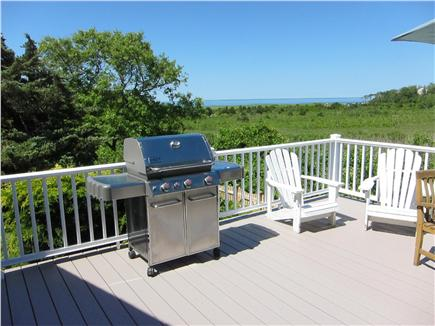 Brewster Cape Cod vacation rental - New Weber Genesis Grill on the deck