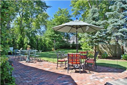 Harwichport, near Bank Street  Cape Cod vacation rental - Patio and spacious yard for entertaining