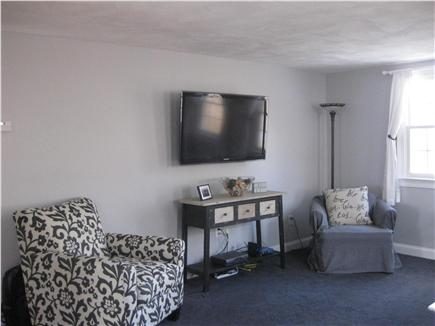 Sandwich Cape Cod vacation rental - Living room with flat screen television