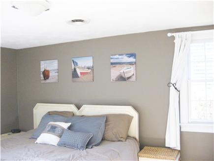 Sandwich Cape Cod vacation rental - Large master bedroom with his & her closets and king size bed