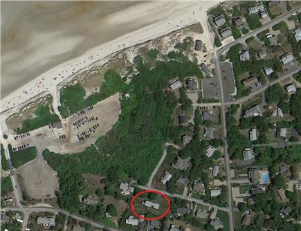 Dennis Cape Cod vacation rental - Aerial view shows home location