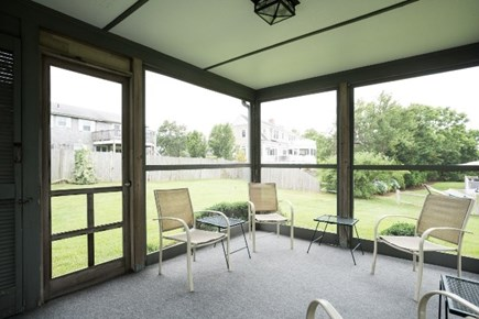 Dennis Cape Cod vacation rental - Screened porch