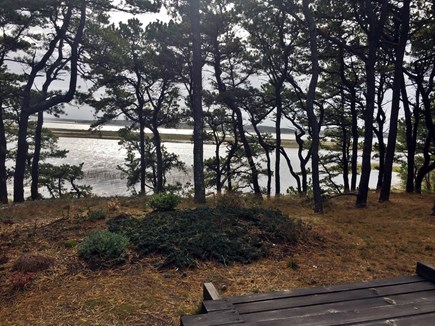 Wellfleet Cape Cod vacation rental - Deck View to Bay