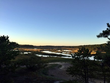 Wellfleet Cape Cod vacation rental - Marsh view from porch