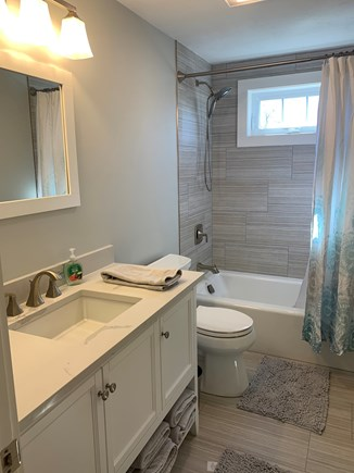 Dennis Cape Cod vacation rental - 2nd floor guest bathroom