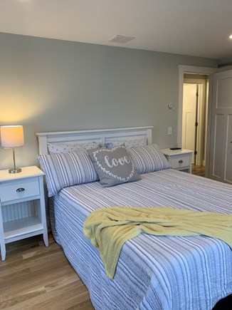 Dennis Cape Cod vacation rental - Master with view of Mayflower & Chapin Beach.