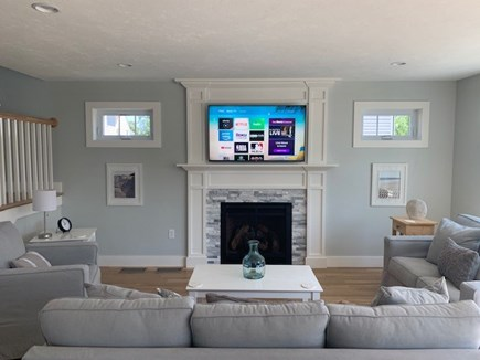 Dennis Cape Cod vacation rental - Gorgeous living room open to kitchen and dining areas