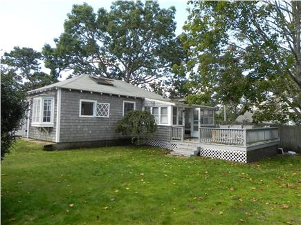 42 Hiawatha Road Harwichport Cape Cod vacation rental - Guest House with spacious deck