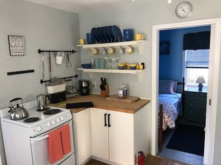 42 Hiawatha Road Harwichport Cape Cod vacation rental - Cottage Kitchen