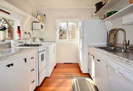 East Orleans Cape Cod vacation rental - Updated and well-equipped kitchen with laundry