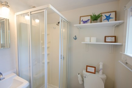 East Orleans Cape Cod vacation rental - Downstairs full bath