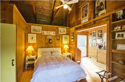 East Orleans Cape Cod vacation rental - Master bedroom with private study