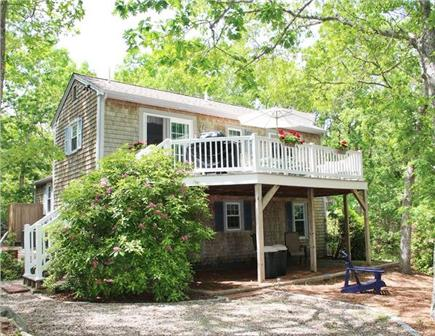 Dennis Cape Cod vacation rental - Back yard and deck