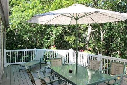 Dennis Cape Cod vacation rental - Relax on the deck