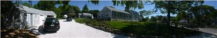 Hyannis Cape Cod vacation rental - Panoramic view of home and driveway