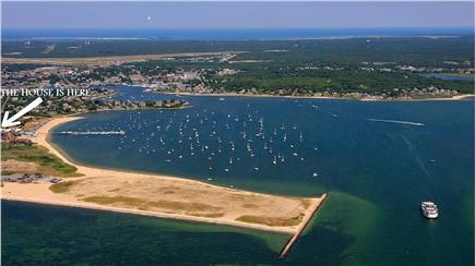 Hyannis Cape Cod vacation rental - Location of House