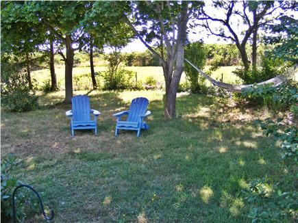 TRURO Cape Cod vacation rental - Inner Back Yard