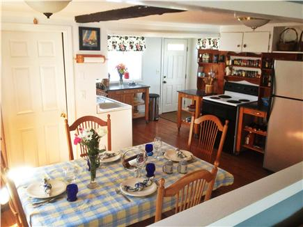 kingston MA vacation rental - Open kitchen with all amenities and dining area for 8